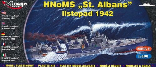 Mirage Hobby 40609 HMS 'St Albans' Allied destroyer