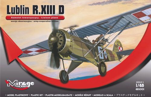 Mirage Hobby 485001 Lublin R.XIII D (Liaison plan)