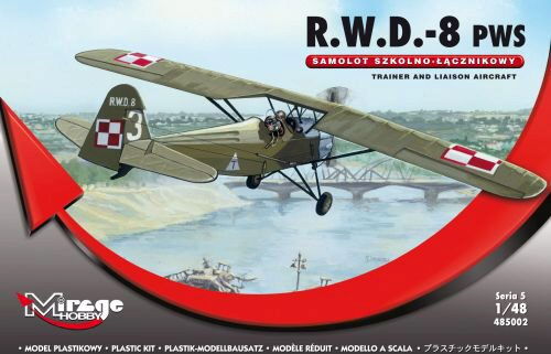 Mirage Hobby 485002 R.W.D.-8 (PWS) Trainer and Liaison Airc.
