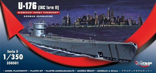 Mirage Hobby 350501 German Submarine U-176 (IXC turm II)
