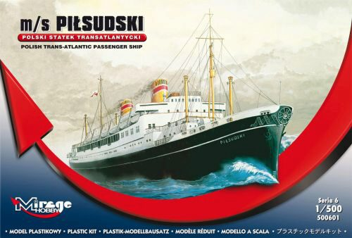 Mirage Hobby 500601 Pol. Trans-Atlantic Pas. Ship Pilsudski