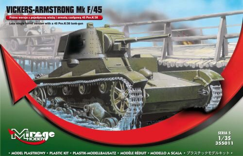 Mirage Hobby 355011 Vickers-Armstrong Mk F/45