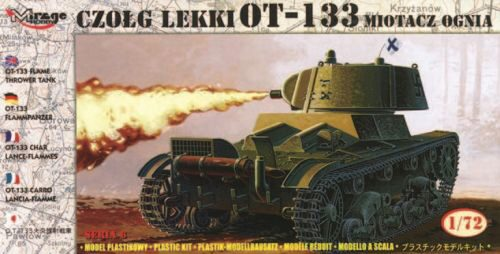 Mirage Hobby 72616 Flammpanzer OT-133 finnische Beuteversion