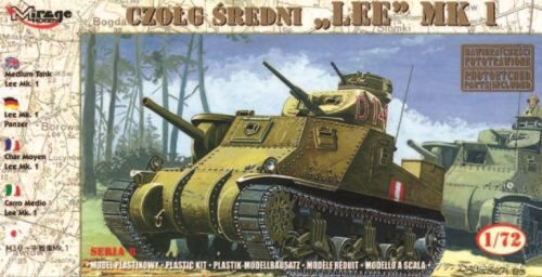 Mirage Hobby 728002 Medium Tank Lee Mk. I
