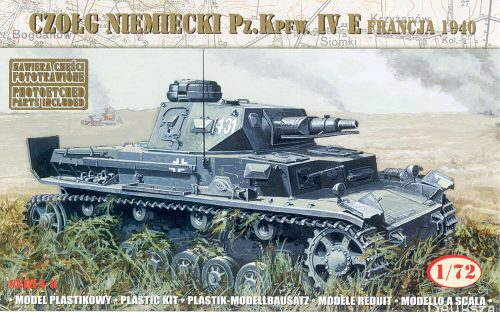 Mirage Hobby 72863 German Tank Pz.Kpfw.IVE France 1940