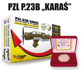 Mirage Hobby 480002 PZL-23B Karas Light Bomber 64th Line