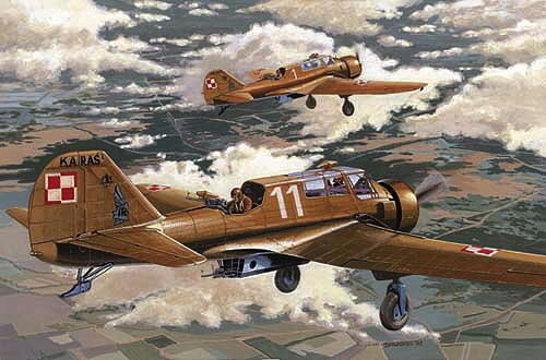 Mirage Hobby 481303 PZL - 23 A KARAS (early version)