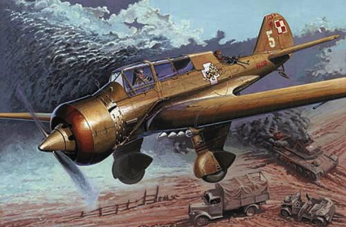 Mirage Hobby 481305 PZL-23B 1939 Campaign
