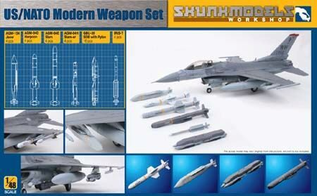 SKUNKMODEL Workshop SW-48006 US/NATO MODERN WEAPON SET