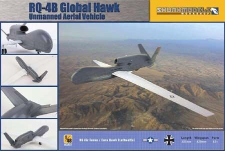 SKUNKMODEL Workshop SW-48009 RQ-4B Global Hawk