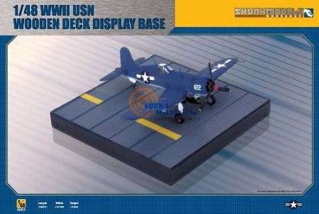 SKUNKMODEL Workshop SW-48015 WWII WOODEN DECK DISPLAY BASE