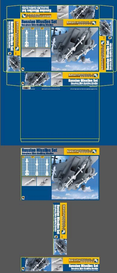 SKUNKMODEL Workshop SW-48029 Russian Missile Set