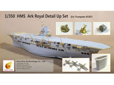 Very Fire VF350004 HMS Ark Royal Detail Up Set(for Trumpete f.Trumpeter 65307)
