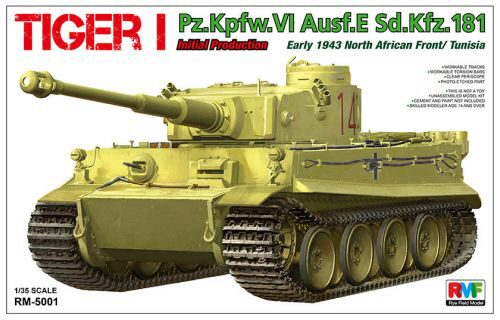 Rye Field Model RM-5001 Tiger I Initial Production Early 1943