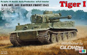 Rye Field Model RM-5003 Tiger I Early Production w/Full Interior