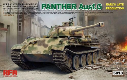 Rye Field Model RM-5018 Panther Ausf.G Early/Late productions