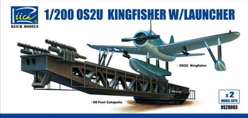 Riich Models RS20003 OS2U-3 Kingfisher w/Launcher(ModelKitsX2