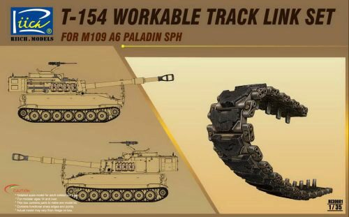 Riich Models RE30001 T-154 Workable Track set for M109A6 SPH