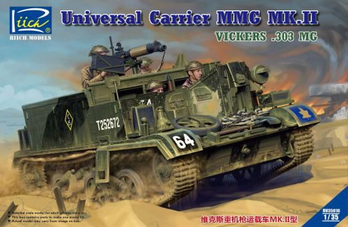 Riich Models RV35016 Universal Carrier MMG Mk.II(.303 Vickers MMG Carrier)