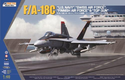 KINETIC K48031 F/A-18C ,Swiss Air Force (CH Decals)