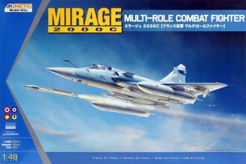 KINETIC K48042 Mirage 2000C Multi-role Combat Fighter