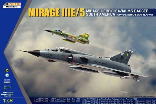 KINETIC K48052 South American Mirage III/V