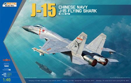 KINETIC K48065 J-15 Chinese Naval Fighter