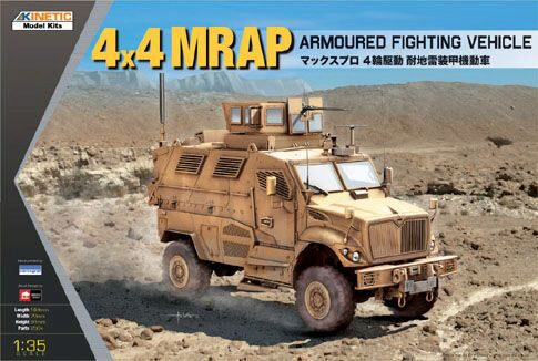 KINETIC K61011 4x4 MRAP Armored Fighting Vehicle