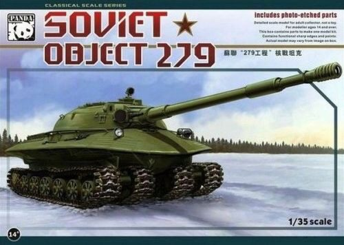 PANDA Hobby PH35005 Object 279 Soviet Heavy Tank