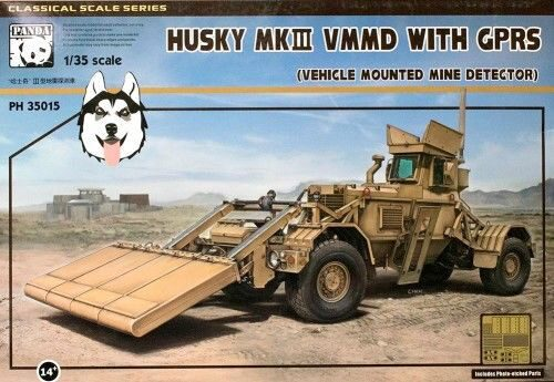PANDA Hobby PH35015 Husky MKII VMMD with GPRS (Vehickle Mounted Mine detector)