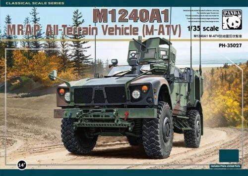 PANDA Hobby PH35027 M1240A1 M-ATV MRAP All-Terrain Vehicle