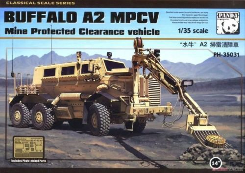 PANDA Hobby PH35031 BUFFALO A2 MPCV Mine Protected Clearance vehicle
