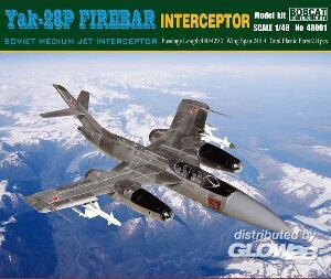 Bobcat Hobby Model Kits 48001 Yak-28P Firebar Interceptor Soviet Mediu Jet Interceptor