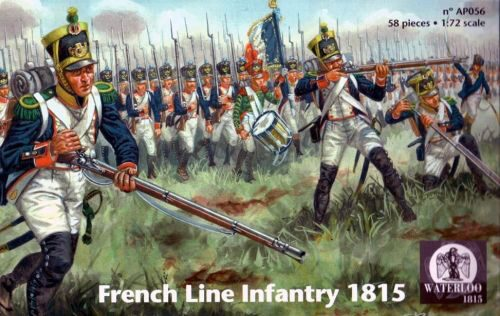 WATERLOO 1815 AP056 French Line Infantry 1815