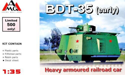 AMG AMG35407 BDT-35 Heavy Armored Traine WWII