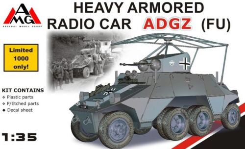 AMG AMG35504 Heavy Armored Radio Car ADGZ (FU)