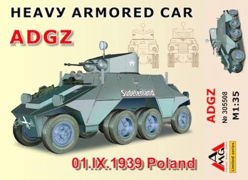 AMG AMG35508 Heavy Armored Car ADGZ(01.IX.1939 Poland