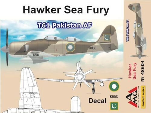 AMG AMG48604 Hawker Sea Fury T61 Pakistan AF