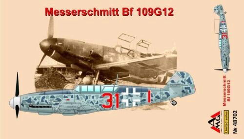 AMG AMG48702 Messerschmitt Bf109G-12(trainer),early