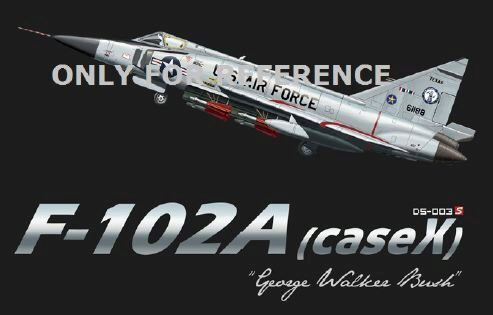 "MENG-Model DS-003s F-102A (case X) ""George Walker Bush"""
