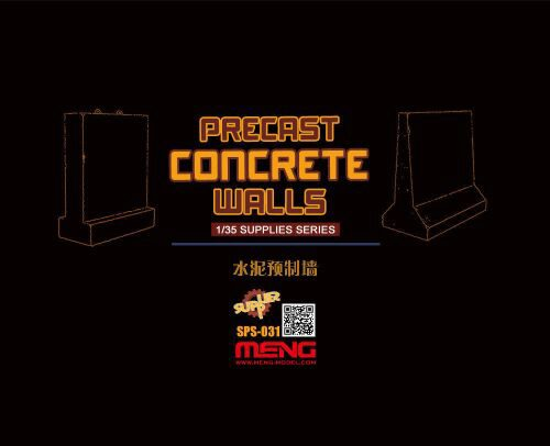 MENG-Model SPS-031 Precast Concrete Walls (resin)