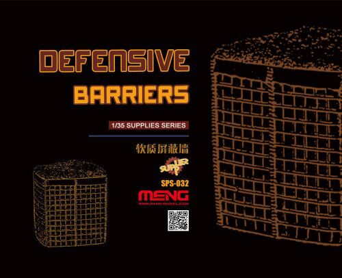 MENG-Model SPS-032 Defensive Barriers (Resin)