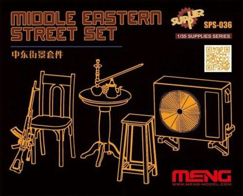 MENG-Model SPS-036 Middle Eastern Street Set (Resin)