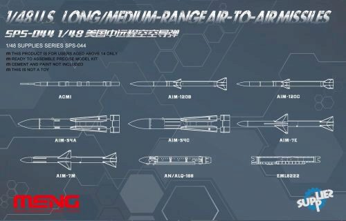 MENG-Model SPS-044 U.S.Long/Medium-range Air-to-air Missile