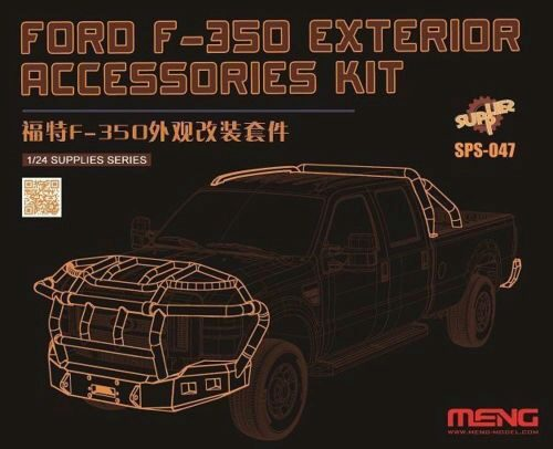 MENG-Model SPS-047 Ford F-350 exterior accessoriesKit(resin