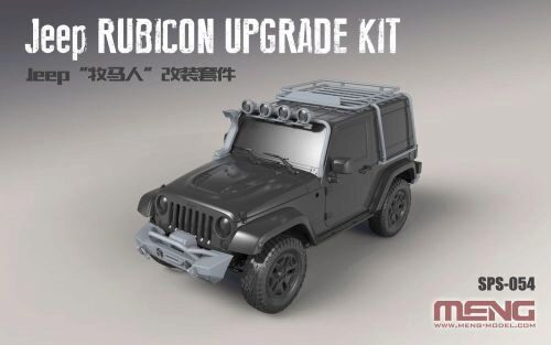 MENG-Model SPS-054 Jeep Rubicon Upgrade Kit (Resin)