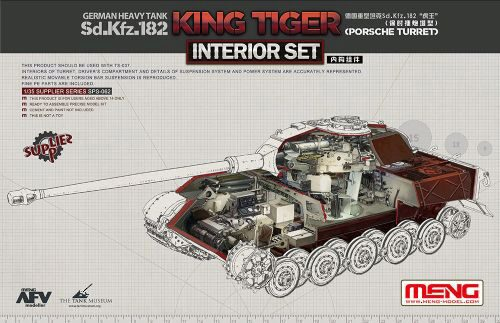 MENG-Model SPS-062 German Heavy Tank Sd.Kfz.182 King Tiger (Porsche Turret) Interior Set