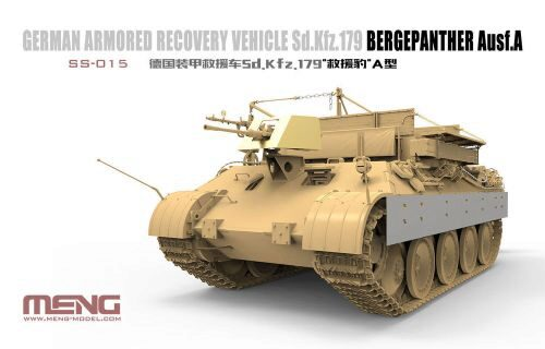 MENG-Model SS-015 German Armored Recovery Vehicle Sd.Kfz. 179 Bergpanther Ausf.A