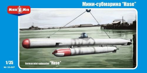 "Micro Mir  AMP MM35-007 German mini-submarine ""Hase"""
