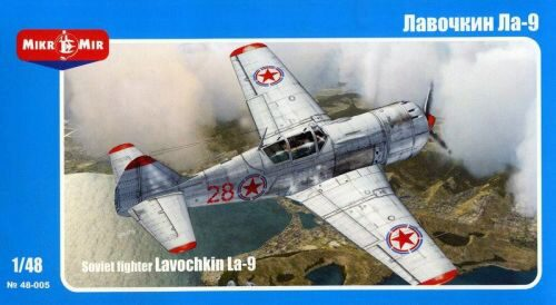 Micro Mir  AMP MM48-005 Lavochkin La-9 Soviet fighter